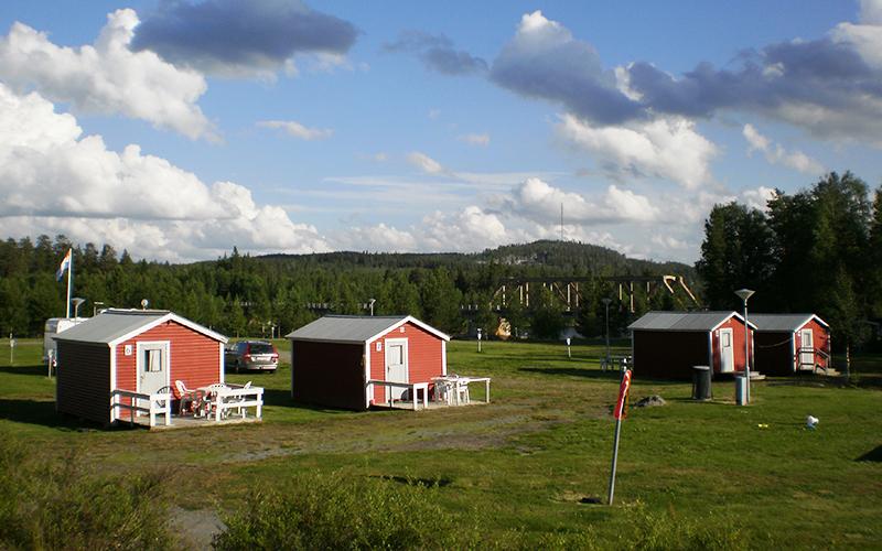 Vakantiehuisjes in Lapland, Zweden