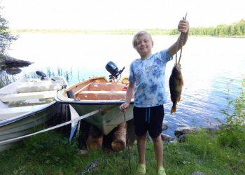 Eliot Juli 21 Abborre 39cm, 0.65kg